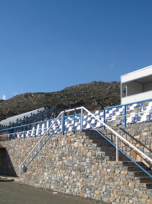 Stadium in Gergeri, Crete